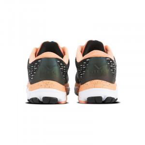 Dos Chaussure running femme Inside MIF 3 noir-corail